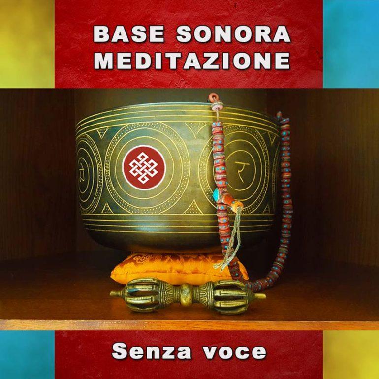Base sonora meditazione senza voce