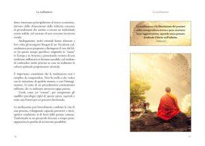 La Meditazione - estratto