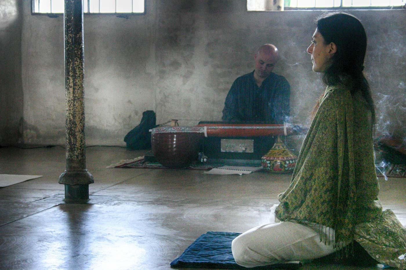 Sessioni di meditazione